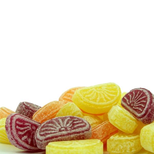 Orangen- & Zitronen Schnitten Bonbon