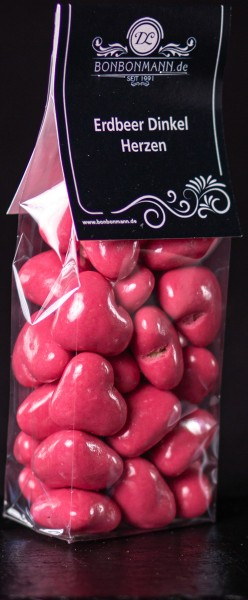 Erdbeer Dinkel Herzen